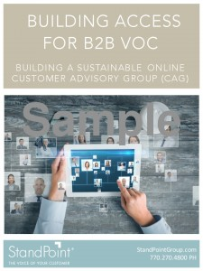 Building Access for B2B VOC NEW